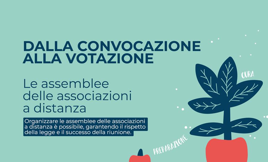 Dalla convocazione alla votazione: le assemblee delle associazioni a distanza